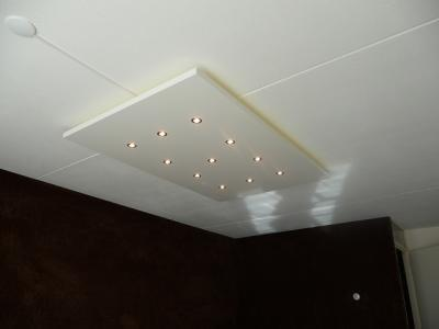 perfect quanti exclusieve ue with zwevend plafond met verlichting
