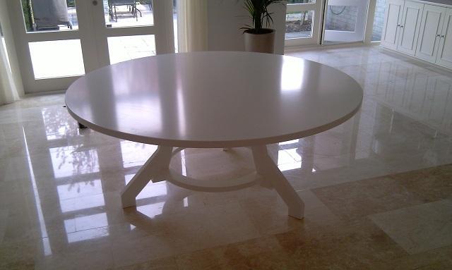 Quant i exclusieve interieurbouw - Laag rots glazen tafel bobois ...